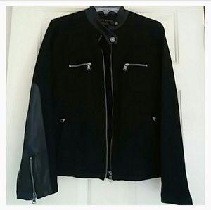 Ralph Lauren Black Jean & Leather Jacket
